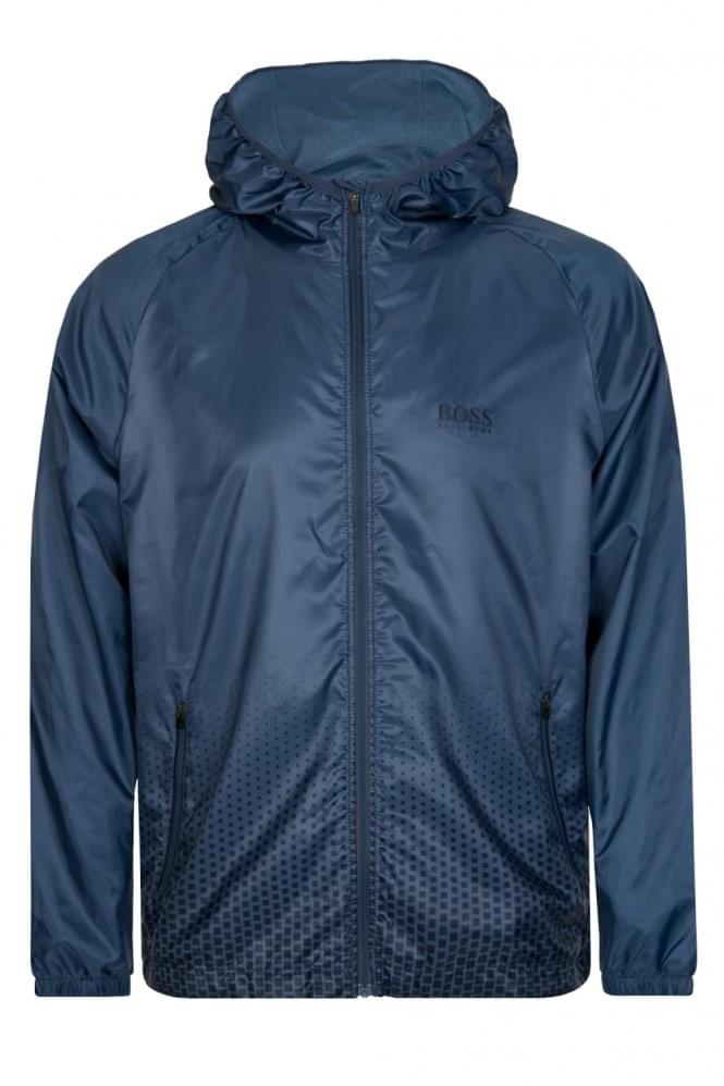 66f82580ba84f Hugo Boss Technical Beach Jacket Blue