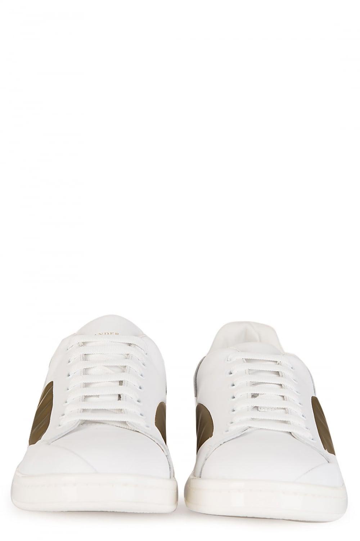 ALEXANDER MCQUEEN Pell S Gomma Leather Sneaker
